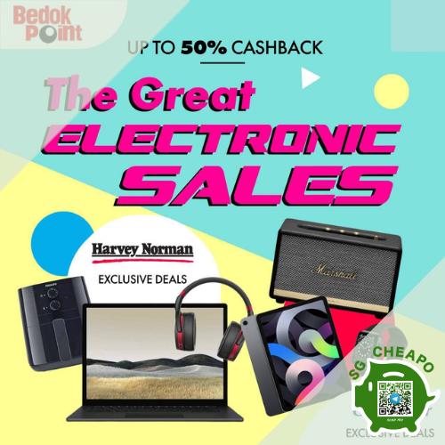 bedok point electronics sale aug promo