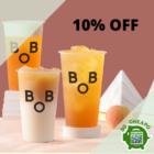 bober tea 10 off aug promo
