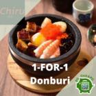 chiru 1 for 1 donburi aug promo