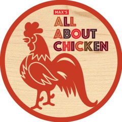 maxs all about chicken logo