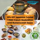 nude seafood 10 off japanese free madeleines promo