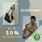 the editors market up to 50 off sale promo