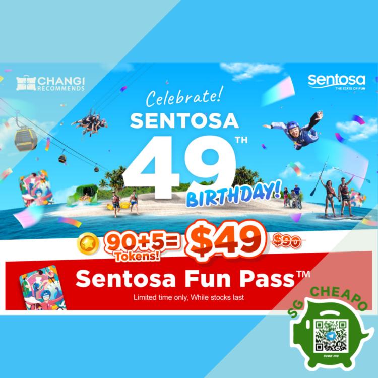 Changi Recommends - 45% OFF Sentosa Fun Pass - sgCheapo