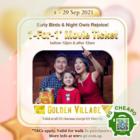 Golden Village - 1-FOR-1 MOVIE TICKET - sgCheapo