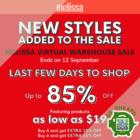 Melissa - UP TO 85% OFF Melissa - sgCheapo