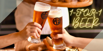 Morganfield's Singapore - 1-FOR-1 BEERS - sgCheapo