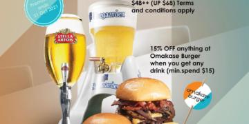 Omakase Burger - 15% OFF Omakase Burger - sgCheapo