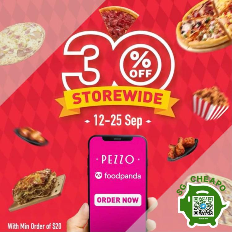 PEZZO 30% OFF PIZZA DELIVERY