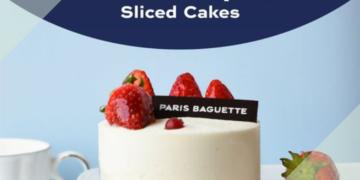 Paris Baguette 2 FOR $15 Sliced Cakes