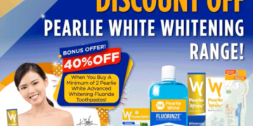 Pearlie White - 35% OFF Pearlie White's Whitening Range - sgCheapo