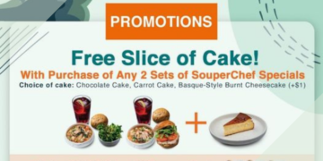 The Soup Spoon Free Slice of Cake