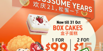 BreadTalk - UP TO 40% OFF Box Cakes - sgCheapo