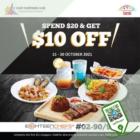 Eighteen Chefs - $10 OFF Eighteen Chefs - sgCheapo