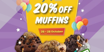 Famous Amos - 20% OFF MUFFINS - sgCheapo