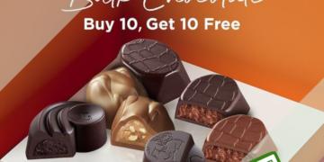 GODIVA - BUY 10 GET 10 FREE Bulk Chocolate - sgCheapo