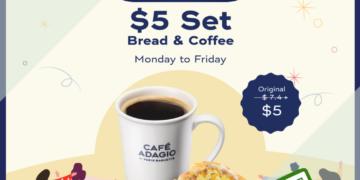 Paris Baguette - 30% OFF Bread & Coffee Set - sgCheapo