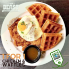 The Beast - 1-for-1 Chicken & Waffles - sgCheapo